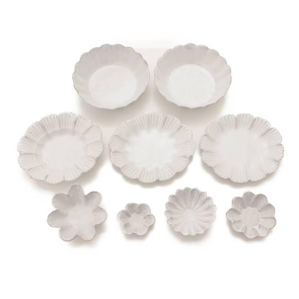 マーガレット プレート9枚セット 食器 皿 ホワイト