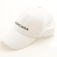 ロゴ ベースボールキャップ 帽子 ホワイト L
