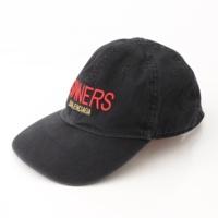 18SS カプセルコレクション SINNERS 刺繍 キャップ 帽子 ブラック L59