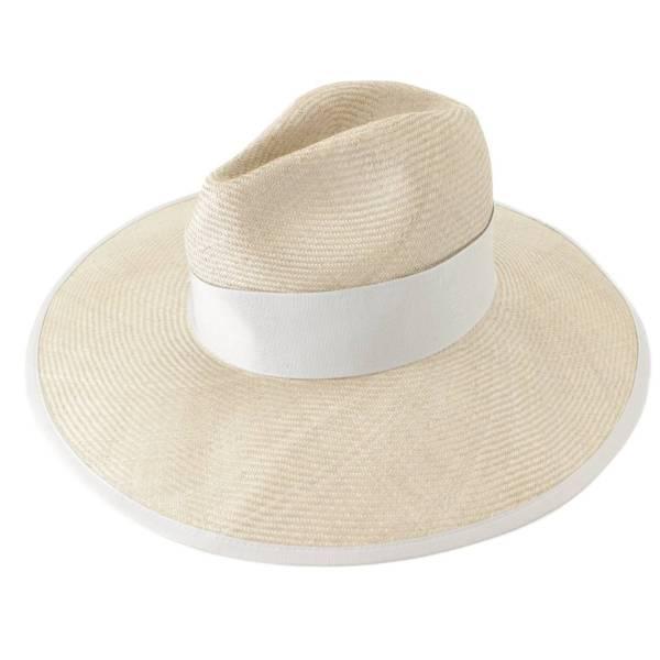 パナマハット 帽子 グレー M