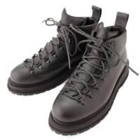 18AW メンズ レザー トレッキング ブーツ ZENO B8030 ブラック 42