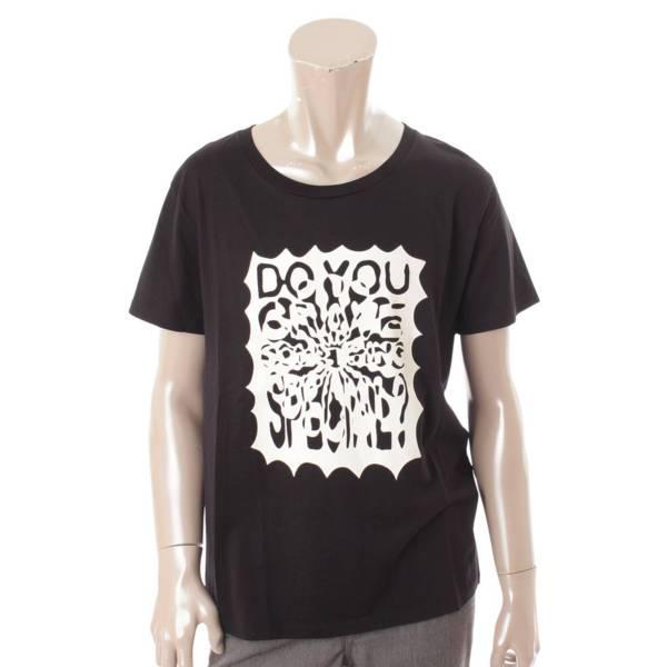 19SS コーディ・デフランコ Tシャツ DO YOU CRAVE プリント エディ ブラック  L