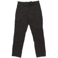 センタープレス スラックス パンツ ブラック 36