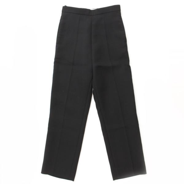 センタープレス パンツ ブラック 34