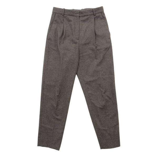 フィービー期 ウール テーパード スラックス パンツ 2 1K97 グレー 34