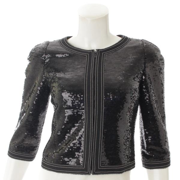 2009-10 スパンコール ジャケット P45044 ブラック 34
