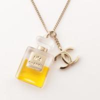 ココマーク NO.5 香水 パフューム モチーフ ネックレス 09A ゴールド