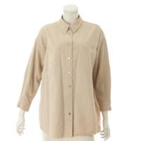コットン シャツ ジャケット P12336 ベージュ 36
