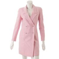 ココマーク セットアップ 97C ロングジャケット スカート ピンク 34