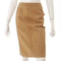 99A スエード スカート P14247 ベージュ 34