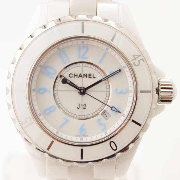 J12 セラミック 時計 ブルーライト クオーツ H3826 2000本限定モデル