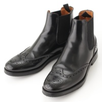 KETSBY ケツビー レザー サイドゴア ブーツ ブラック 35