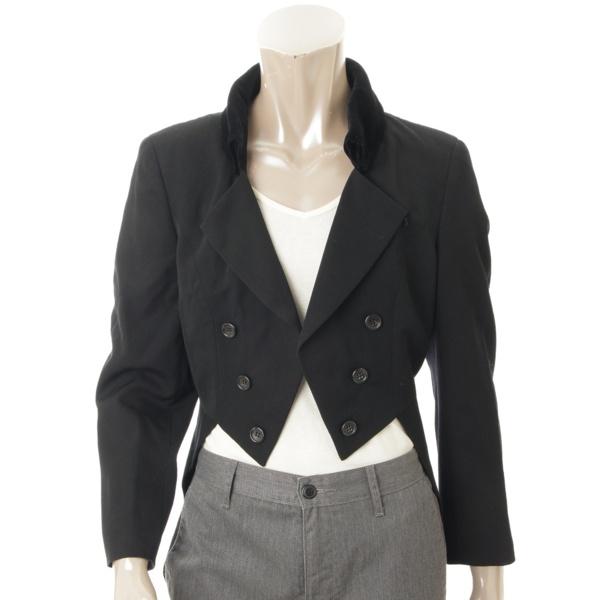 メンズ 燕尾服 ジャケット 襟 2点セット ブラック M