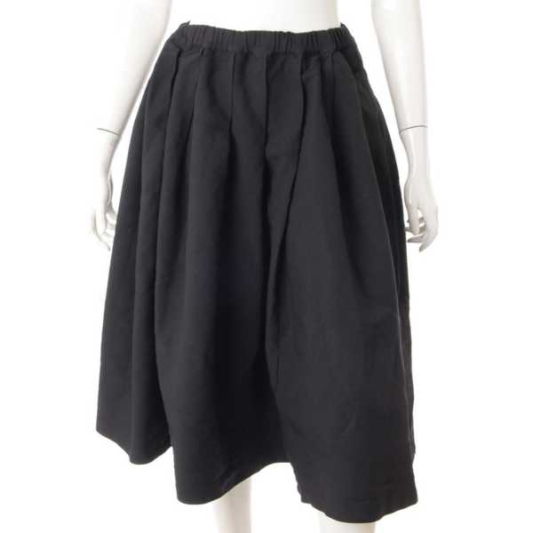 プリーツスカート ブラック M