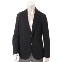 メンズ ジャケット ブラック 48