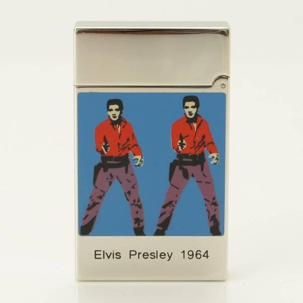 ライン2 エルビスプレスリー 世界限定1964個 16466 ライター シルバー