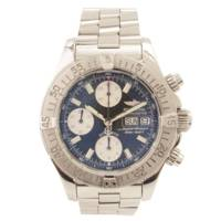 スーパーオーシャン クロノグラフ 腕時計 自動巻き A13340 シルバー