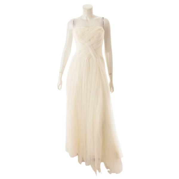 Delaney デラニー ウェディングドレス チュールライン ホワイト EU38