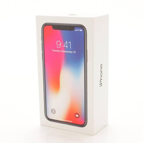 Apple(アップル) au スマートフォン SIMロック解除済み iPhoneX 256GB 白ロム MQC12J/A スペースグレー