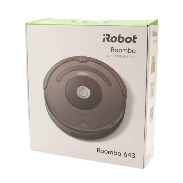 iRobot ルンバ643 ロボット掃除機 家電 ブラック