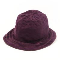 スタイルファックス Stylefax スエード ハット 帽子 パープル