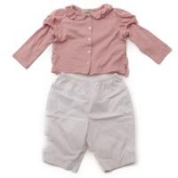 イピンコパリーノ キッズ 子供服 トップス パンツ セット ピンク ホワイト
