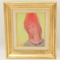 ネリア・ザッキ『仏陀』フランスを代表するハンディキャップ作家です。絵画 骨董品