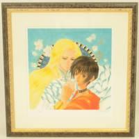 いのまたむつみ『風の大陸より BLEATH』限定版画 作品保証書付き・絵・ガンダムSEED