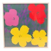 アンディ・ウォーホル『Flowers』♯2 絵画 アンディ・ウォーホルの代表作