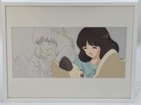 絵画:希少!グループ・タック制作『タッチ』浅倉南 アニメ原画&セル画