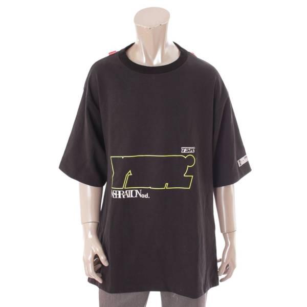 ユーザー youser YSR オーバーサイズ Tシャツ トップス 915268 ブラック M