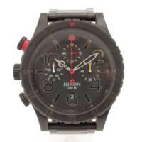 NIXON ニクソン 48-20 CHRONO クロノグラフ 腕時計 ブラック 電池交換済