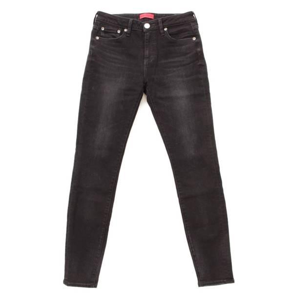 レッドカード デニム パンツ ブラック 25