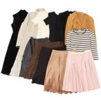 【期間限定販売】 セット販売 コート トップス スカート ワンピース 衣類12点セット まとめ売り