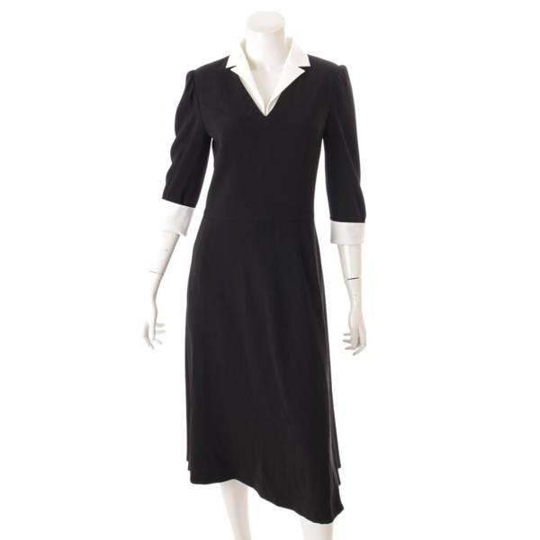 2020年 Lady Noir ドレス 七分袖丈 ワンピース 41136 ブラック 38