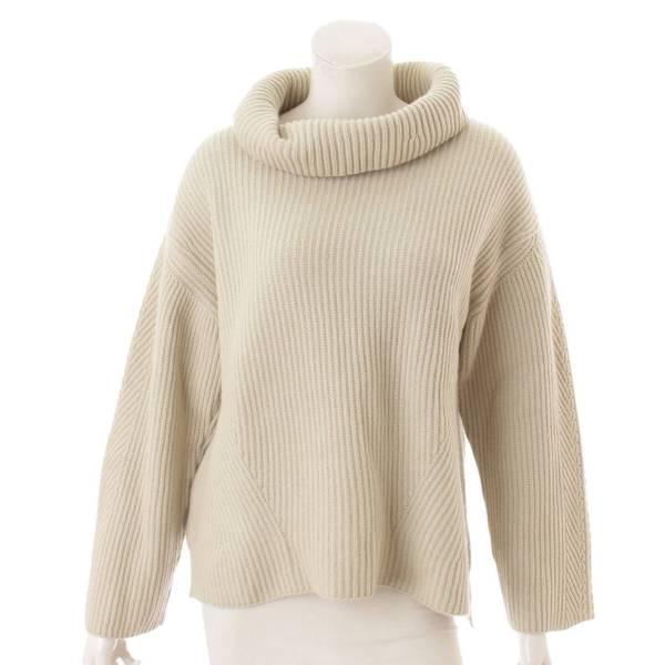 現行品 Knit Top Chocolat 長袖 カシミヤ ニット トップ セーター 41437 アボカド F
