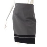 ベルベットロンド スカート 30159 グレー ブラック 40