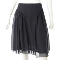 Tulip Flare Skirt スカート 37078 ネイビー 40