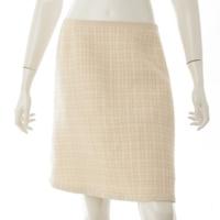French Chic Tweed ツイード スカート 34493 ベージュ 40
