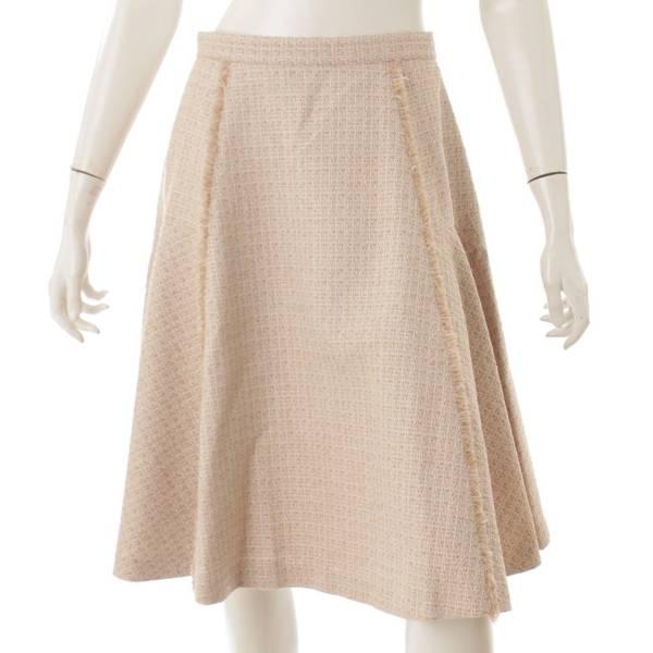 ツイード スカート 39634 ベージュ 40