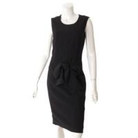 17SS ウエストマーク ドレス ワンピース 17Y2031194 ブラック 36