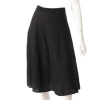 ニット フレア スカート 16P4859528 ブラック XS