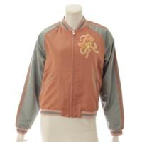 スーベニア ジャケット ブルゾン フラワー キャット 500443 ピンク 40