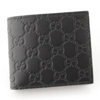 AVEL アヴェル グッチシマ 二つ折り財布 365467 ブラック