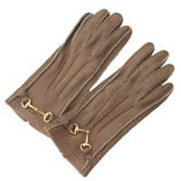 ホースビット レザー グローブ 手袋 ブラウン
