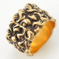 ライオン たてがみ リング 指輪 476854 ゴールド M 15号