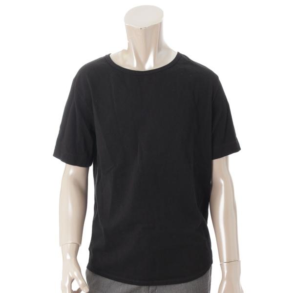 メンズ バックタグ Tシャツ 431047 ブラック XS