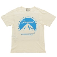 19SS パラマウント Tシャツ 492347 アイボリー ブルー XL
