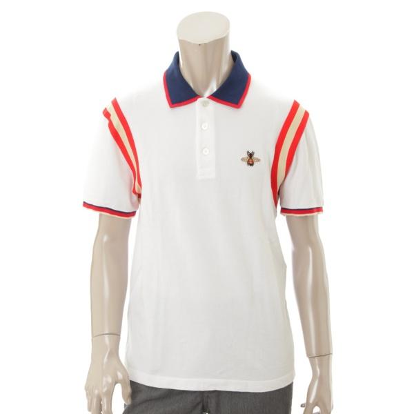 メンズ ビー ポロシャツ 500971 ホワイト L