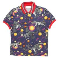 17SS スペースアニマル ポロシャツ 474642 ネイビー XS